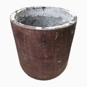 Antiker Tiegel aus Aluminium