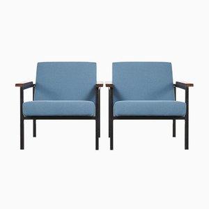 Sillones SZ30/SZ60 minimalistas de Hein Stolle para 't Spectrum, años 60. Juego de 2