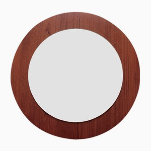 Mid-Century Teak Veneered Mirror, 1960s