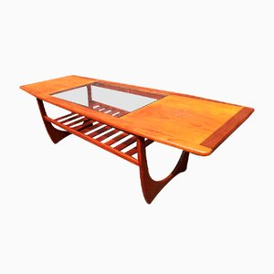 Table Basse Vintage en Teck de G-Plan, 1972
