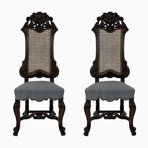 Antique Hall Chairs from George Trollope & Sons, 1860s, Set of 2
