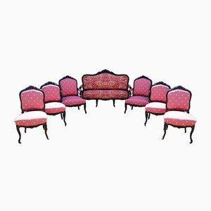Set da salotto antico in stile rococò