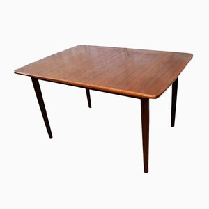 Table de Salle à Manger Extensible en Teck par Alf Aarseth pour Gustav Bahus, 1950s