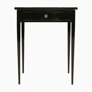 Tavolino Art Déco antico in legno