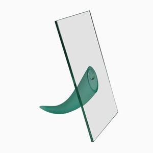 Escultura francesa vintage de cristal de Philippe Starck para Daum, años 80