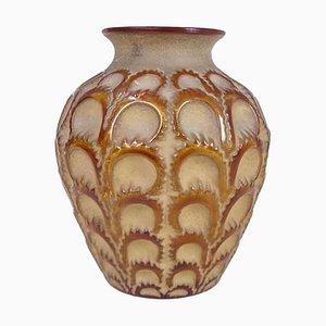 Vase Milkweed Art Déco par René Lalique, France, 1931
