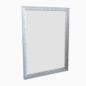 Espejo estilo barroco de madera tallada, años 80