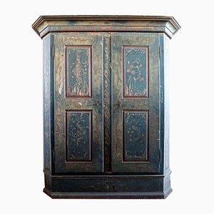 Vintage Italian Fir Cabinet, 1930s