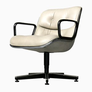 German Executive Chair by Charles Pollock for Knoll Inc. / Knoll International, 1980s