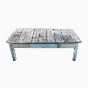 Table Basse Antique en Peuplier
