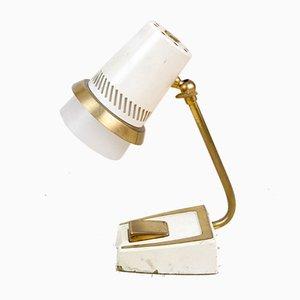 Kleine Mid-Century Tischlampe aus Kupfer, 1960er