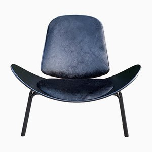 Danish CH07 Lounge Chair by Hans J. Wegner for Carl Hansen & Søn, 1990s