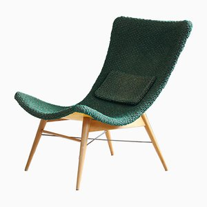 Customizable Lounge Chair by Miroslav Navratil for Cesky Nabytek, 1950s