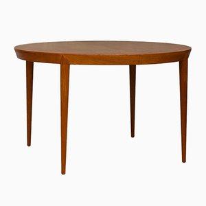 Moderner dänischer Esstisch aus Teak im skandinavischen Design von Severin Hansen für Haslev Møbelsnedkeri, 1960er