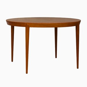 Scandinavian Modern Danish Teak Dining Table by Severin Hansen for Haslev Møbelsnedkeri, 1960s