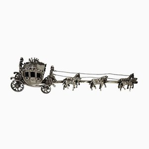 Antique Silver Royal Golden Carriage by Spijker Brothers