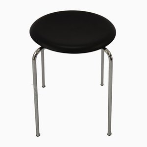 Scandinavian Modern Danish Steel 3170 Stool by Arne Jacobsen, 1950s