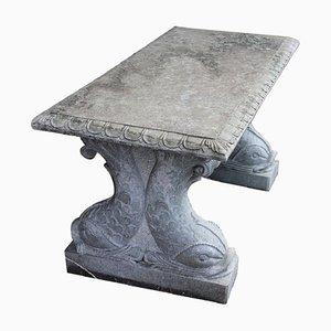 Tavolo da giardino in marmo, anni '20