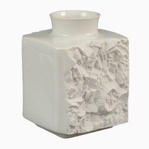 Deutsche Vintage Vase aus Biskuitporzellan von Vohenstrauss Johan Seltmann