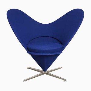 Sessel mit Stoffbezug von Verner Panton für Vitra, 1980er