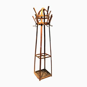 Antique Coat Rack by Josef Hoffmann for Thonet