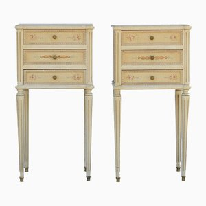Mid-Century French Louis XVI Nightstands, 1950s, Set of 2