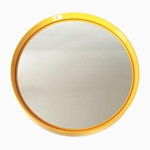 Espejo era espacial italiano vintage de Salc, años 70
