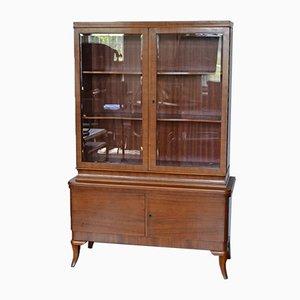 Vintage German Rosewood & Walnut Cabinet, 1930s