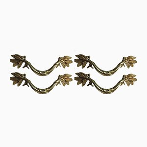 Antique Louis XVI Style Handles, Set of 4