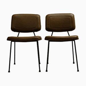 Vintage CM196 Stühle von Pierre Paulin für Thonet, 1960er, 2er Set