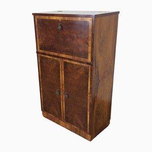 Mueble Art Déco vintage de nogal, años 30
