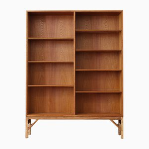 Danish Oak Shelving Unit by Børge Mogensen, 1960s