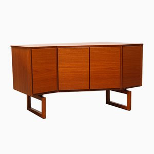 Danish Teak Sideboard by Arne Hovmand-Olsen for Mogens Kold, 1950s