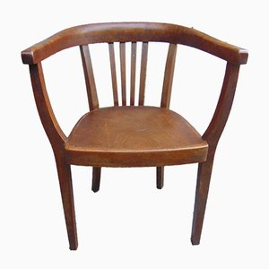 Art Deco Beech Chair from Thonet, 1920s