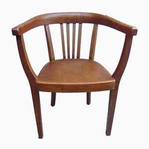 Art Deco Stuhl aus Buche von Thonet, 1920er