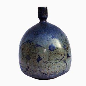 Mid-Century Italian Terracotta Vase by Anna Passuti, 1950s