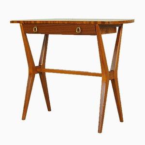 Mid-Century Mahogany Console Table, 1960s