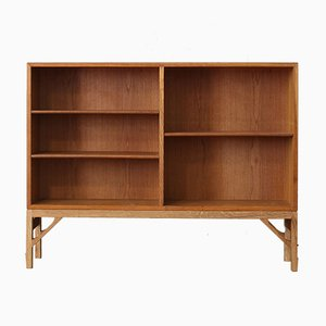 Vintage Oak Shelving Unit by Børge Mogensen for FDB, 1950s