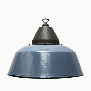 Industrial Cast Iron Pendant Light, 1950s