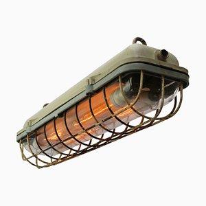Industrial Aluminium Pendant Light, 1950s