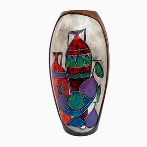 Vaso in ceramica di Cantagalli, 1955