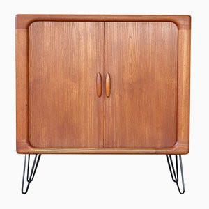 Vintage Danish Teak Shoe Cabinet from Dyrlund, 1960s