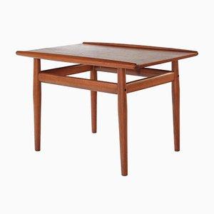 Tavolino in teak di Grete Jalk per Glostrup Møbelfabrik, anni '60