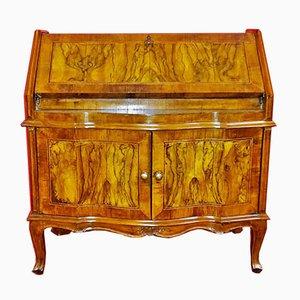 Mueble bar antiguo con apertura abatible