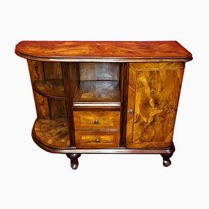 Antique Walnut Entertainment Cabinet