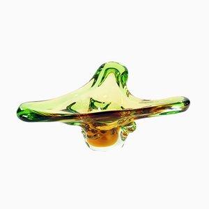 Bol Mid-Century en Verre par Frantisek Zemek pour Mstisov Glass Factory