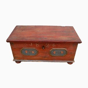 Antique German Wooden Dresser, 1824