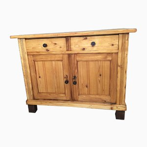 Mueble alemán antiguo de abeto