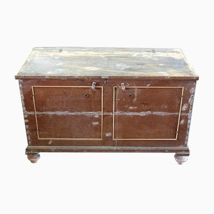 Antique Italian Poplar Sideboard