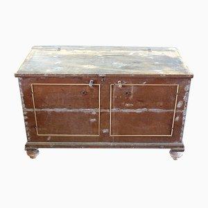 Antique Italian Poplar Sideboard